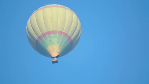 Air Balloon stock footage