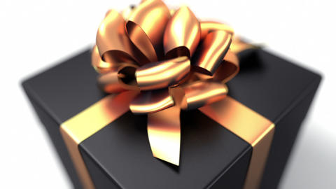 Unpacking a Gift Animation