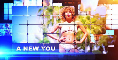 Style Grid stock footage
