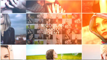 Modular Logo Ident After Effects Template