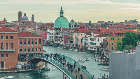 The Constitution Bridge Venice Footage
