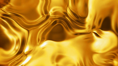 Liquid gold surface Animation