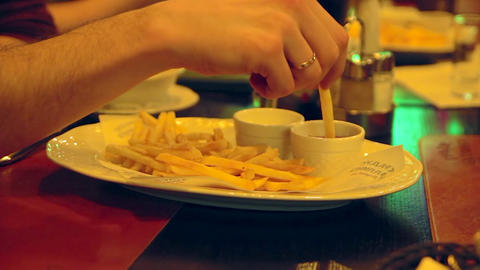 1080p French Fries Footage