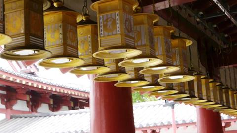 pov temple shitennoji osaka japan 01 Footage