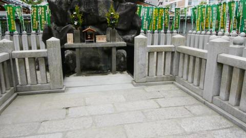 pov temple shitennoji osaka japan 10 Footage