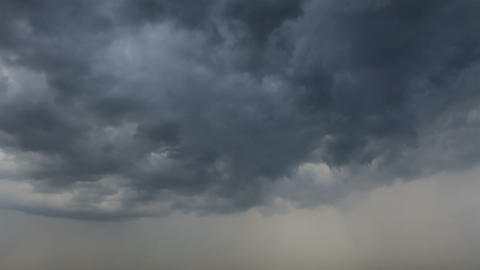 Heavy Storm Clouds Footage