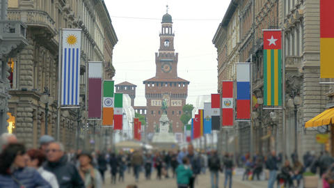 EXPO 2015 Milan, Italy Footage