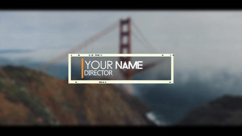 Frame Lower Third After Effects Template