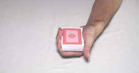 Shuffling playing cards Footage
