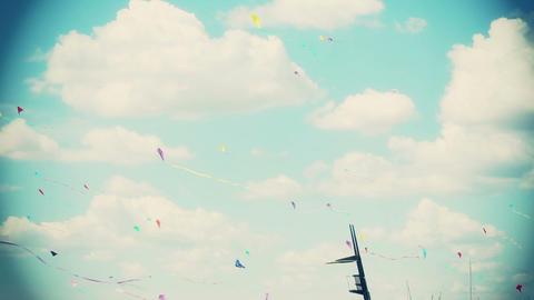 Kite 03b Stock Video Footage