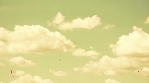 Kite 01b Stock Video Footage