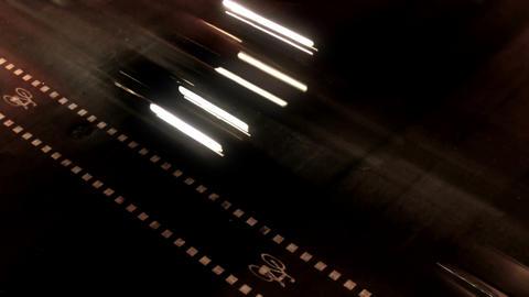 Night City Traffic 04 Stock Video Footage