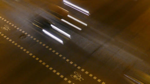 Night City Traffic 02 Stock Video Footage