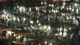 night at jama el fna realtime Footage