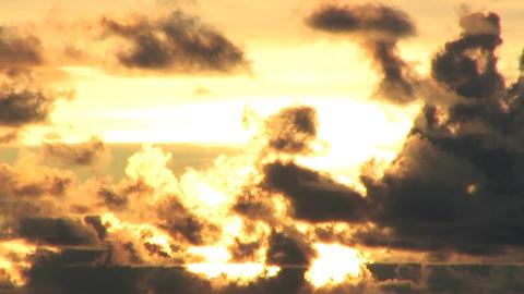 SunsetCloudsTook01 Stock Video Footage