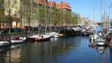 Canal tour in Copenhagen Footage