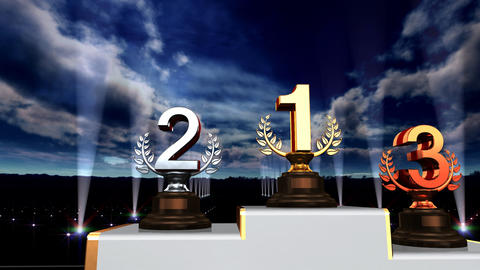 Podium Prize Trophy Aa5sky HD Animation