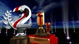 Podium Prize Trophy Ea5sky HD stock footage