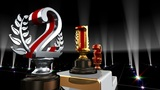 Podium Prize Trophy Eb4 HD stock footage
