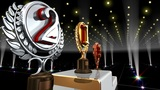 Podium Prize Trophy Ec4 HD stock footage