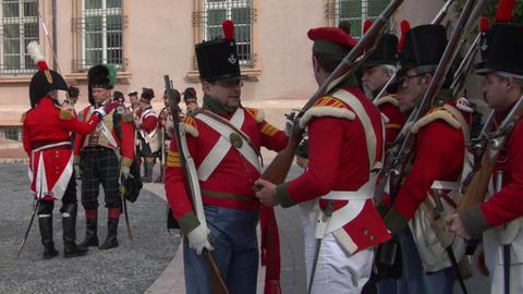 british soldier 02 Stock Video Footage