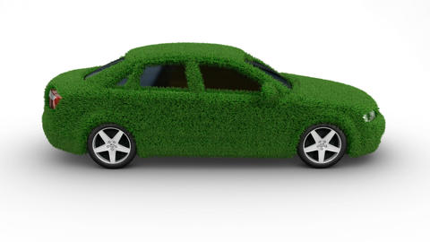 car grass grow Stock Video Footage
