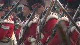 Fighting Scottish Soldier 03 stock footage