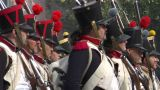 French Foot Gunner 03 stock footage