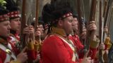 Scottish Soldier 04 stock footage
