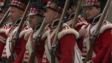 Scottish Soldier 06 stock footage
