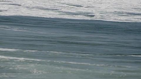 Wavy sea Stock Video Footage