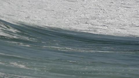 Wavy sea Footage