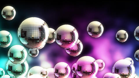 Disco ball 04 Stock Video Footage
