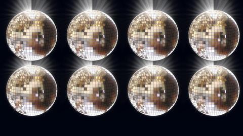 disco ball 02 Stock Video Footage