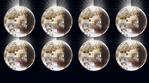 disco ball 02 Stock Video Footage