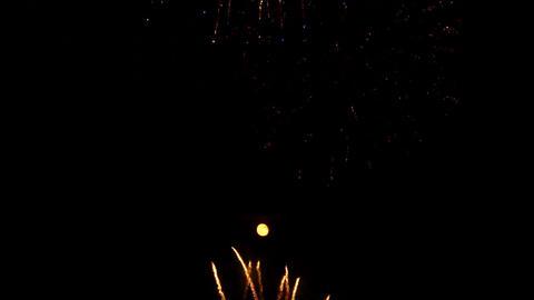 fireworks 18 Stock Video Footage