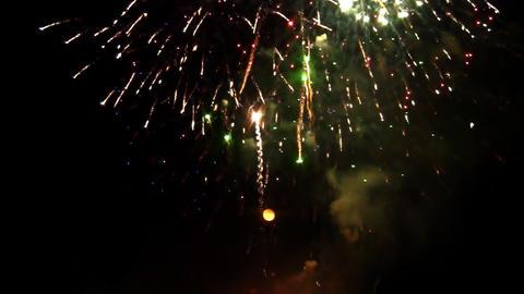 fireworks 16 Footage