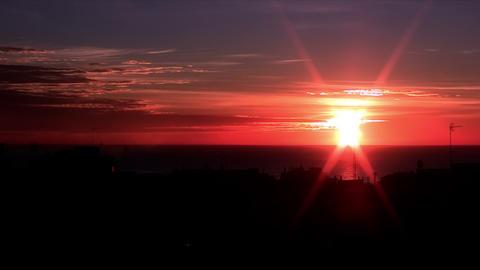 sunrise time lapse 05 Stock Video Footage