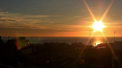 sunrise time lapse 03 Stock Video Footage