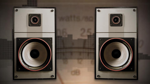 Old Speakers 01 Animation