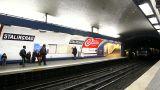 Metrostation in Paris Footage