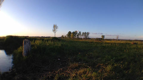 Rural scene Footage