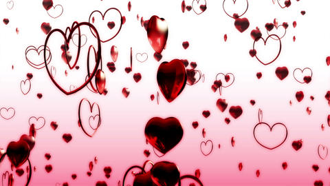 Heart MotionA BG Stock Video Footage
