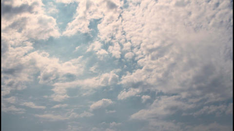 Cloudy skies (time lapse) Stock Video Footage