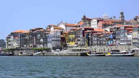 Douro river architecture scenic Footage