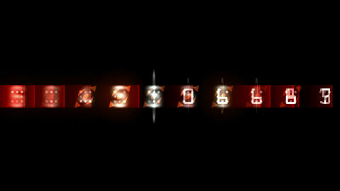 random number morph square background.Minutes,hours,seconds,countdown,sweepstakes,footage,Scanning,d Animation