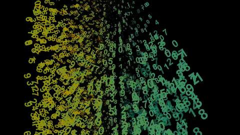 Digital Matrix Stock Video Footage
