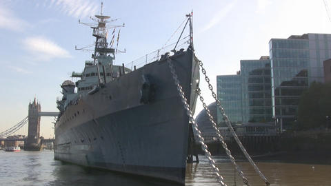 Warship Stock Video Footage