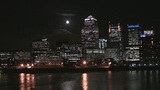 London Canary Warf and River Themse Footage