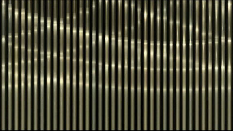waving light on metal strips Animation